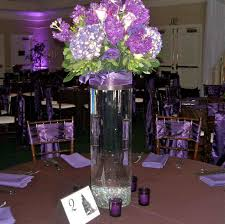 Purple Table L Planner Sugar Purple And Black Wedding Centerpieces L Winter
