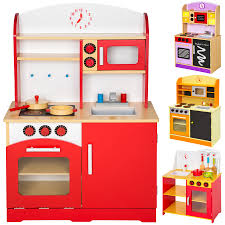 Toy Kitchen Set Wooden Wooden Role Play Kitchen Ebay