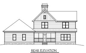 farmhouse plan 2 house plan with covered front porch