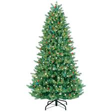 ge 18805sr 7 5 u0027 800 light black hill just cut fir christmas