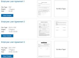 employee loan agreement template free 28 images free employee