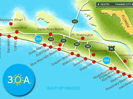 Map Of 30a Florida by 2 2 Condo W King Bed Pool Fitness Walk Vrbo