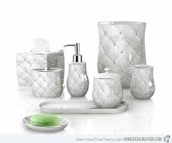 Pink Bathroom Accessories Sets by Bathroom Set 15 Chic Pink Bathroom Accessories Set Home Design
