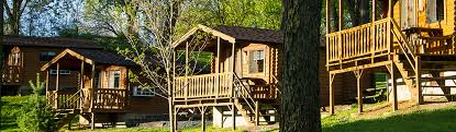 Cottages In Pennsylvania by Cabins Basic Log And Deluxe Hersheypark Camping Resort