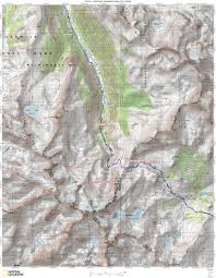Yosemite Valley Map Jmt Topo Maps Onthetrail Org On The Trail Guide To The Outdoors