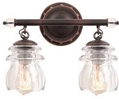 Kalco Brierfield  Light Bath Vanity Fixture Industrial - Bathroom vanities lighting 2