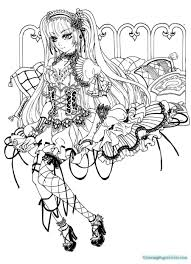 fantastic coloring pages anime angels ideas resume ideas