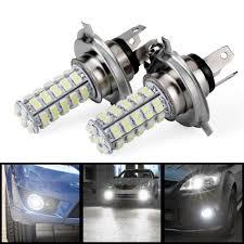 Automotive Led Lights Bulbs by Amazon Com Astra Depot 2pcs Car H4 68 Smd 3528 6000k Xenon White