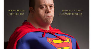 Syndrome Of A Down Meme - superman with down syndrome a plus