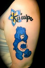 grumpy bear by ryan el dugi lewis tattoonow