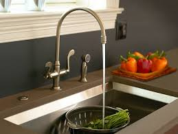 kohler brass kitchen faucets essex kitchen sink faucet with blade handles k 8763 kohler