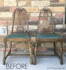 thrifted farmhouse chairs u2013 trash to treasure makeover in