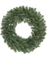 deals on vickerman 32636 24 pink fir wreath k123824