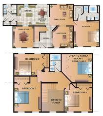 2 Story 4 Bedroom Floor Plans by 4 Bedroom 2 Story Modular Home Floor Plans Decohome