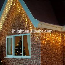 110v 7colors outdoor icicle lights customized size warm