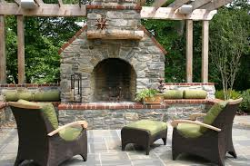 Outdoor Fireplace Surround by Outdoor Fireplace Mantels Patio Eclectic With Animal Head Themed
