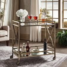 Home Depot Cart by Homesullivan Allie Antique Brass Bar Cart 40621abs 07 The Home Depot