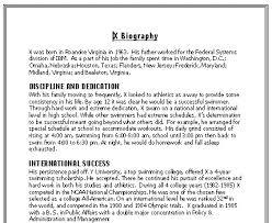 Resume Bio Examples by Career Development