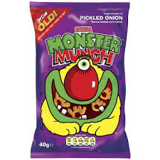buy walkers monster munch pickled onion flowers