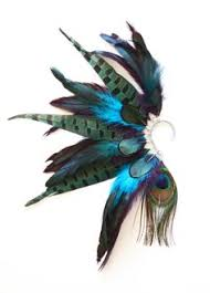 how to make feather ear cuffs aztec feather tree party large feathers feather