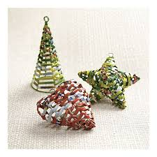 eco s guide to living green recycled tree ornaments