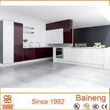 new design indian kitchen cabinets high gloss finish of modern