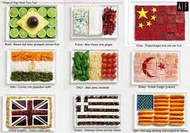 la cuisine du monde cuisine du monde par les drapeaux cuisine bien le bonjour d andre