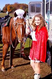 Horse Rider Halloween Costume Red Riding Hood Grandma Horsey Halloween