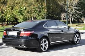 black lexus lexus ls460l black 2007 rent vip taxi in minsk