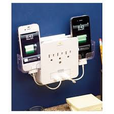 phone charger organizer cell phone charging station iphone wall charger outlet storage