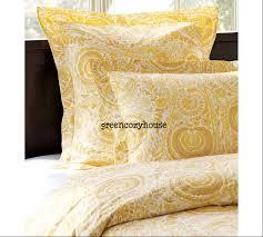 yellow duvet cover tjihome nurani