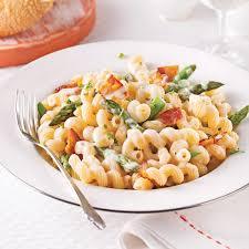 cuisiner asperges tortiglionis aux asperges et bacon sauce béarnaise soupers de