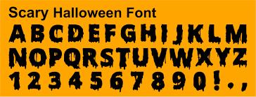 halloween font u2013 october halloween calendar