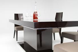 lacquer dining room sets noble modern ebony lacquer dining table