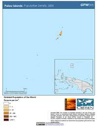 Palau Map Map Gallery Sedac