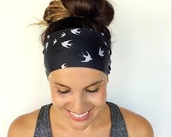 wide headbands wide headband etsy