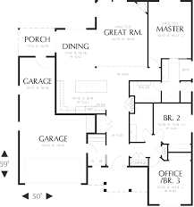 craftsman open floor plans ranch style house plans 1800 square sq ft