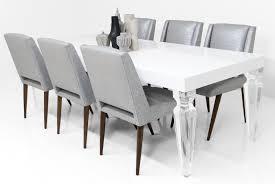 Palm Beach Lucite Leg Dining Table Modshop