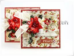 traditional christmas cards tutorial wild orchid crafts youtube