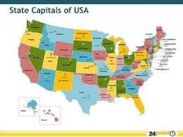 a usa map with states and capitals usa states and capitals map usa map states and capitals image us