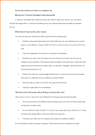 6 financial aid reinstatement appeal letter example nypd resume