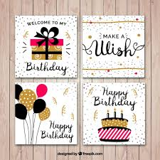 birthday vectors photos and psd files free