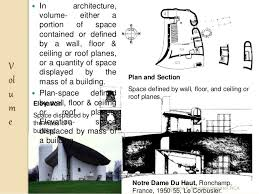 notre dame du haut floor plan module 1 elements of design