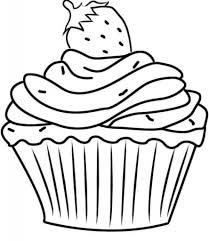 cupcake coloring page dortíky šablony hledat googlem šablony pinterest