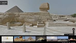 Pyramids In America Map by Official Google Blog Walk Like An Egyptian With Street View In