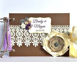 personalized wedding scrapbook kristabella creations wedding albums wedding