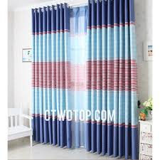 Teal And Red Curtains Red Blue And Baby Blue Unique Discount Nautical Striped Curtains