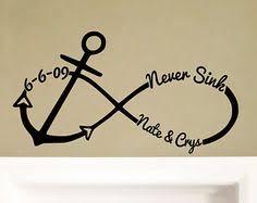Items Similar To Love Anchors - kinda like the print style tattoos pinterest anchor tattoo