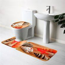 Seashell Bathroom Rug 40 60cm Bath Mat Bathroom Rug Mat Set Carpet Floor Rug Toilet Mats