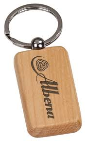 wooden keychains personalized engraved wood keychains images inc
